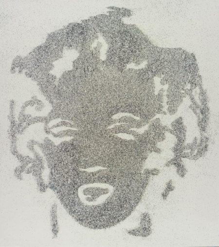 Vik Muniz-Reversal Black Marilyn-2003