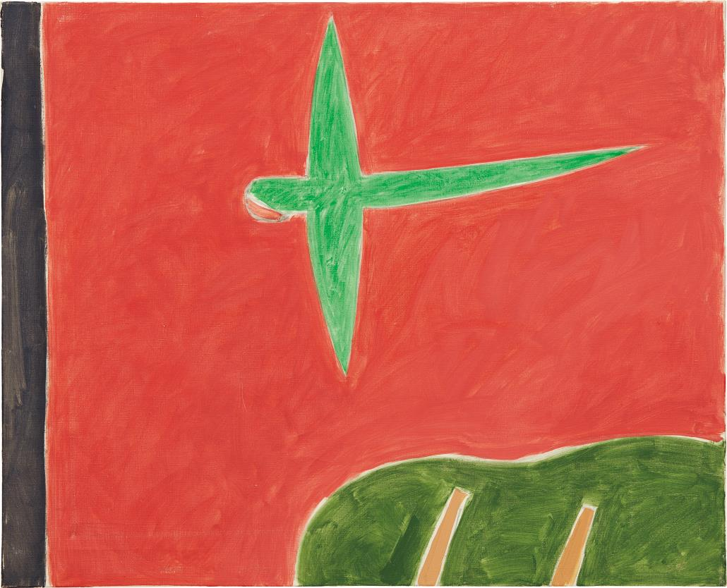 Peter Kinley-Green Parrot-1978