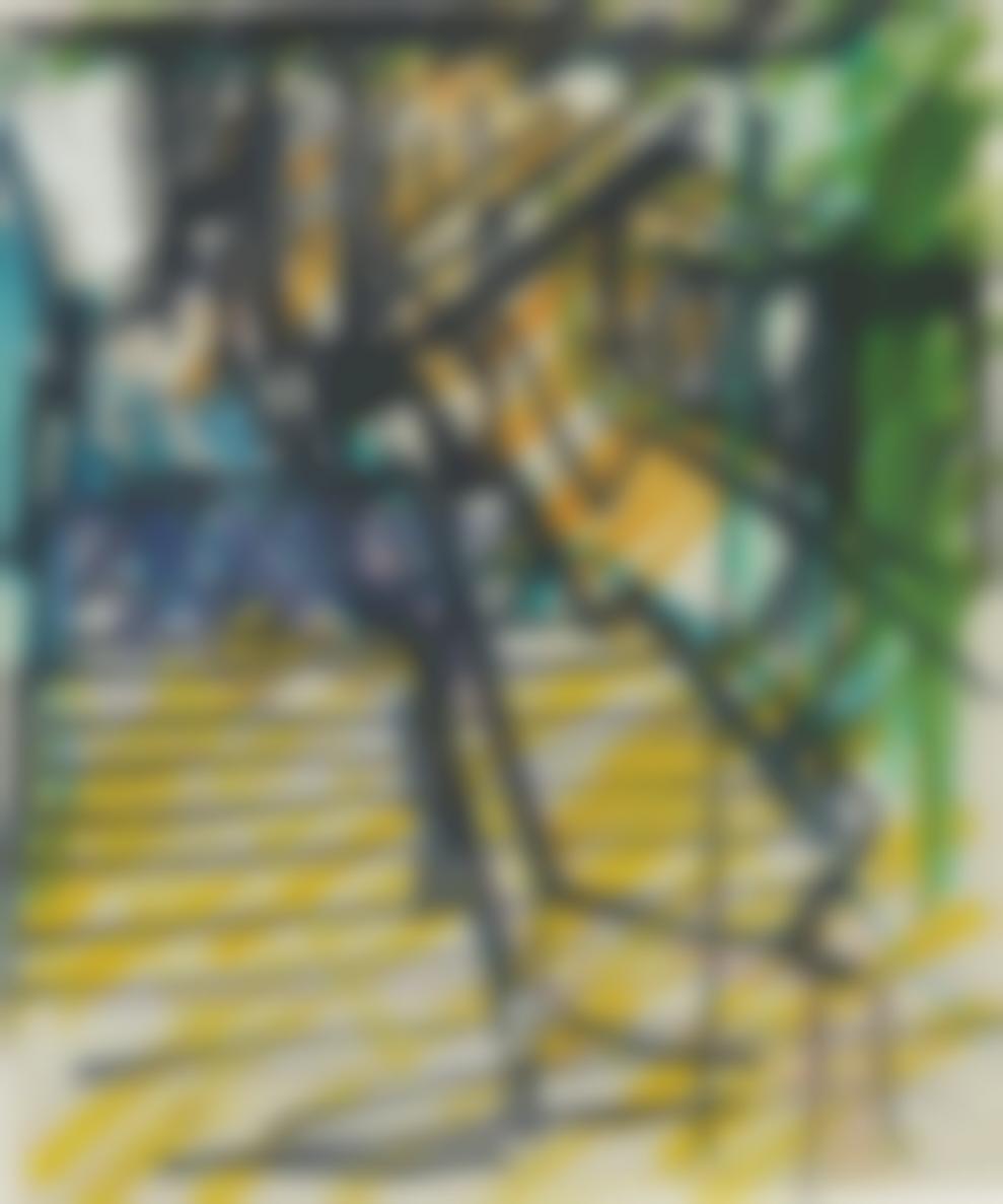 Frank Auerbach-St. Pancras Steps-1979