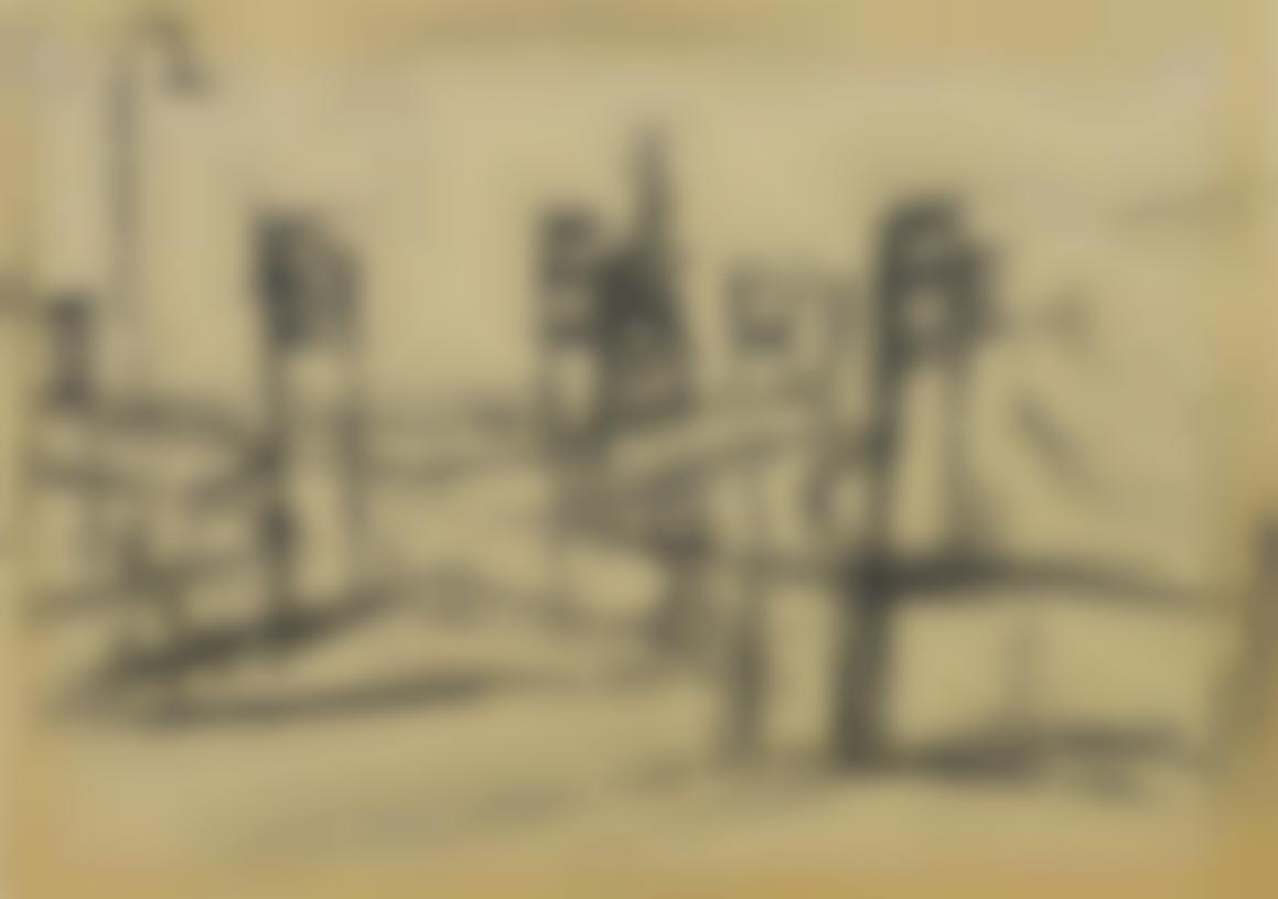 Frank Auerbach-Sketch For Camden Town-