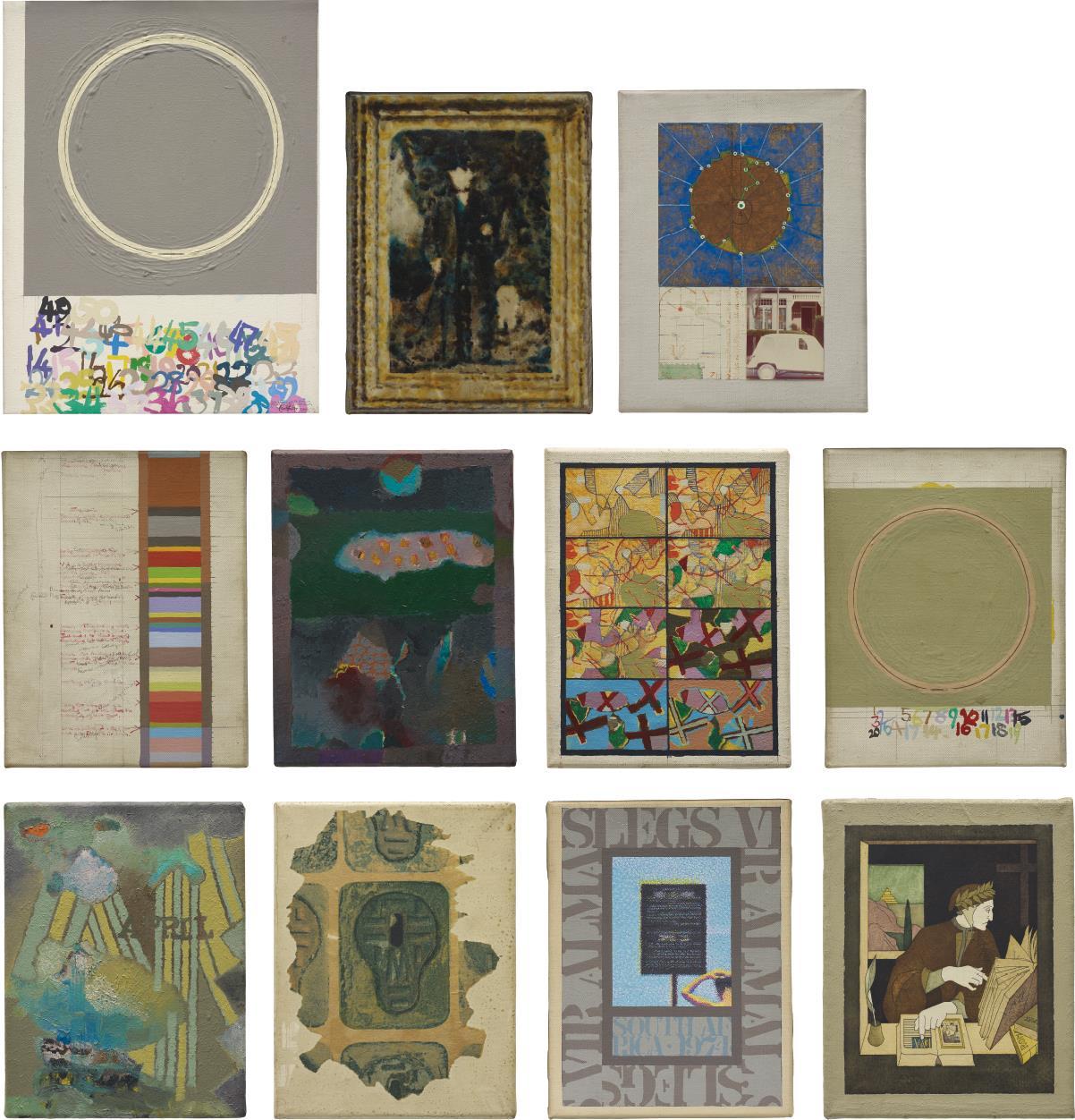 Tom Phillips-11 Studies-1970