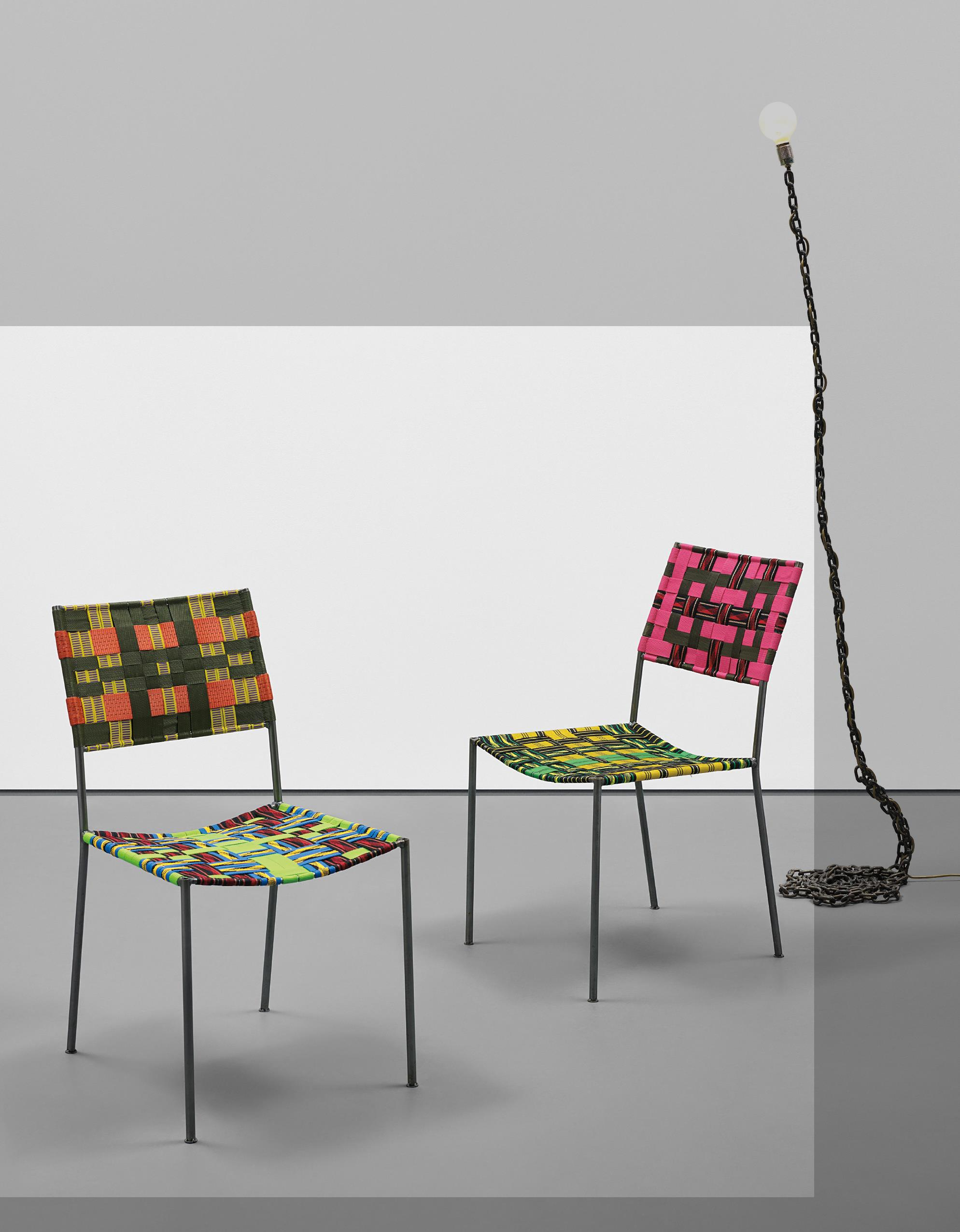 Franz West-Two Works: (I-II) Onkel Stuhl (Uncle Chair)-2009
