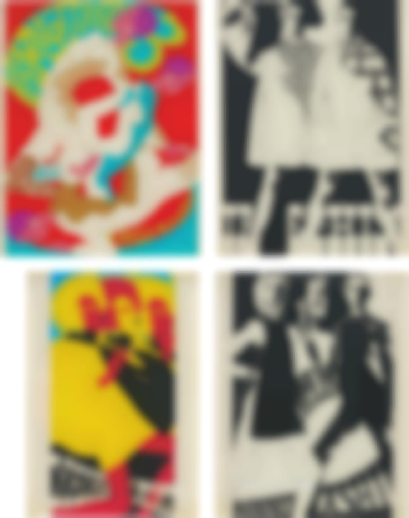 Antonio Lopez-Four Works: (I-IV) Untitled (Daniel Hecter)-1967