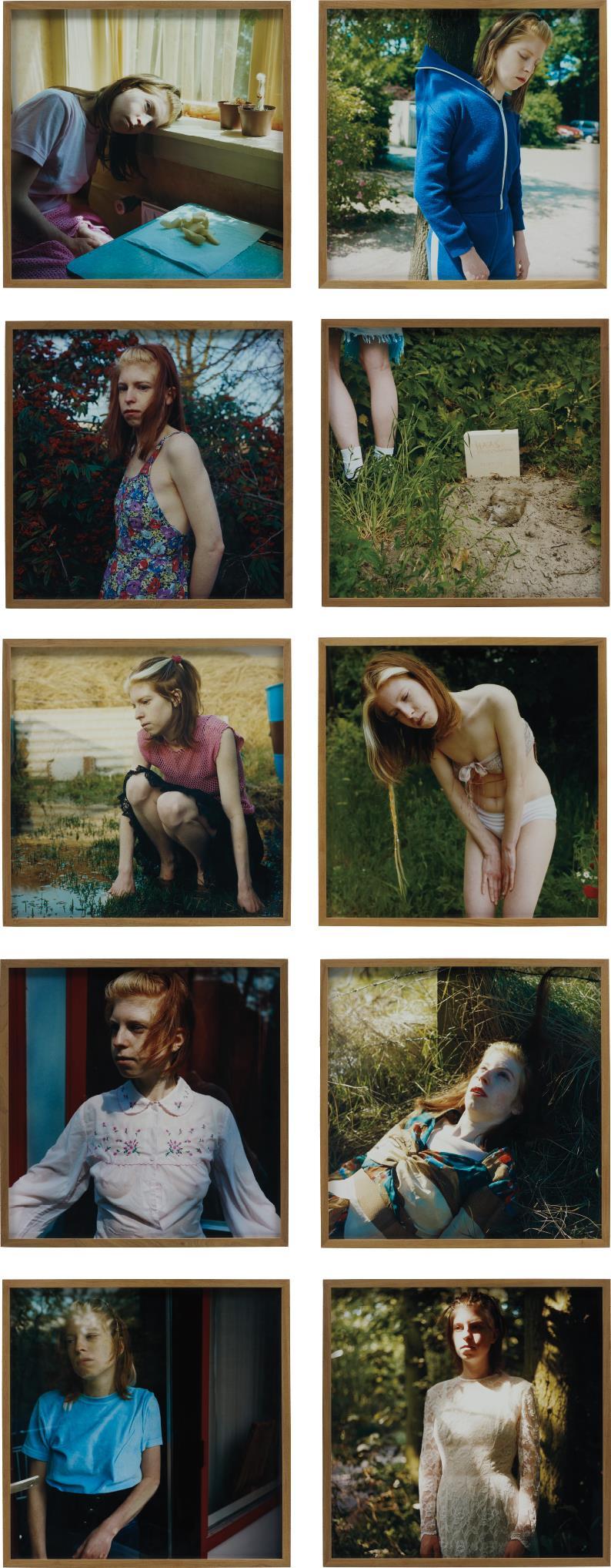 Hellen van Meene-Untitled (The Barbara Series)-1999