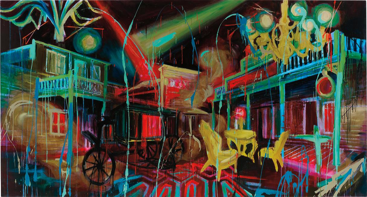 Rosson Crow-The Widow Garrets View Of Deadwood-2007