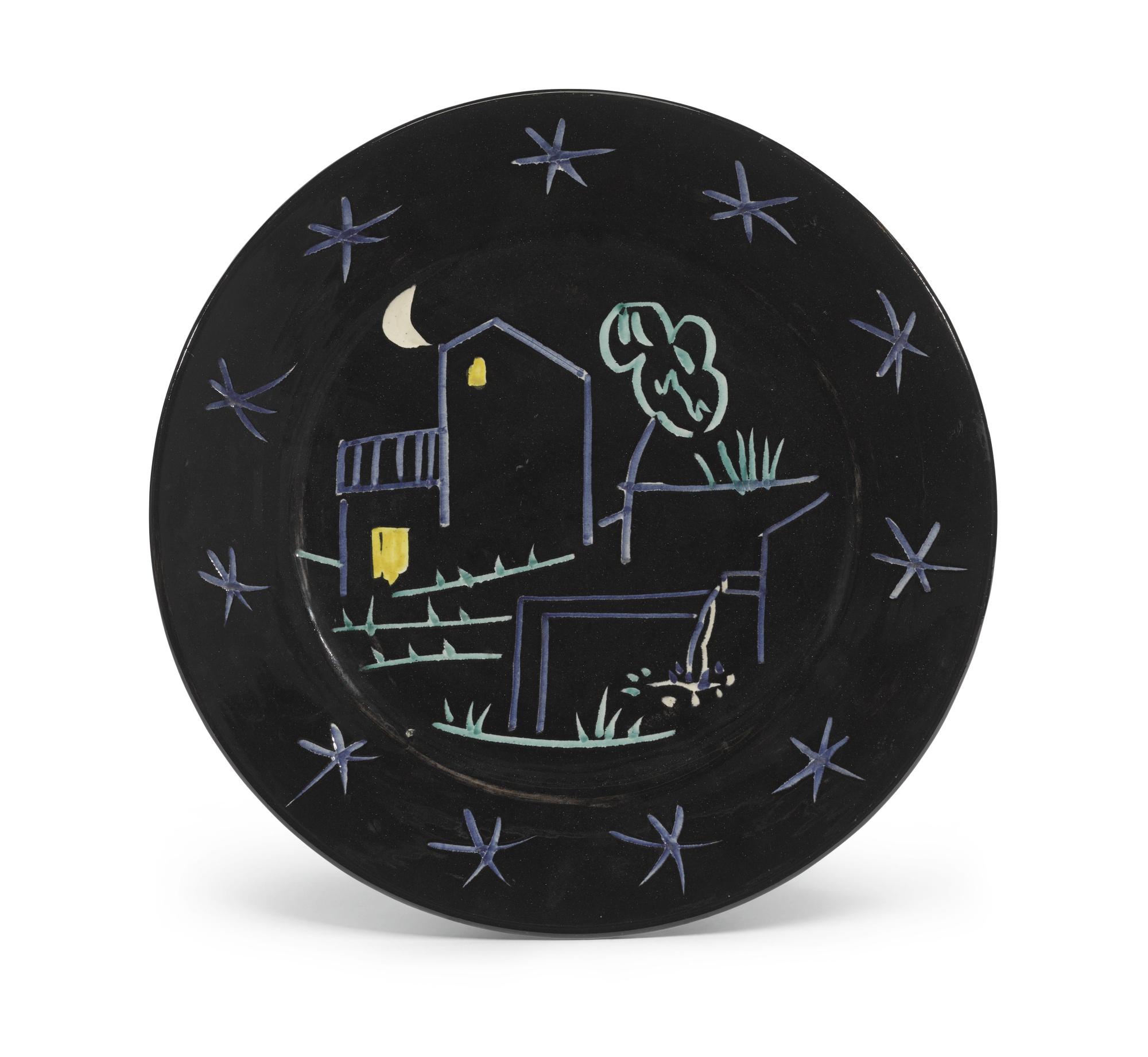 Pablo Picasso-Paysage, Variante Aux Trois Etoiles (A. R. 205)-1953