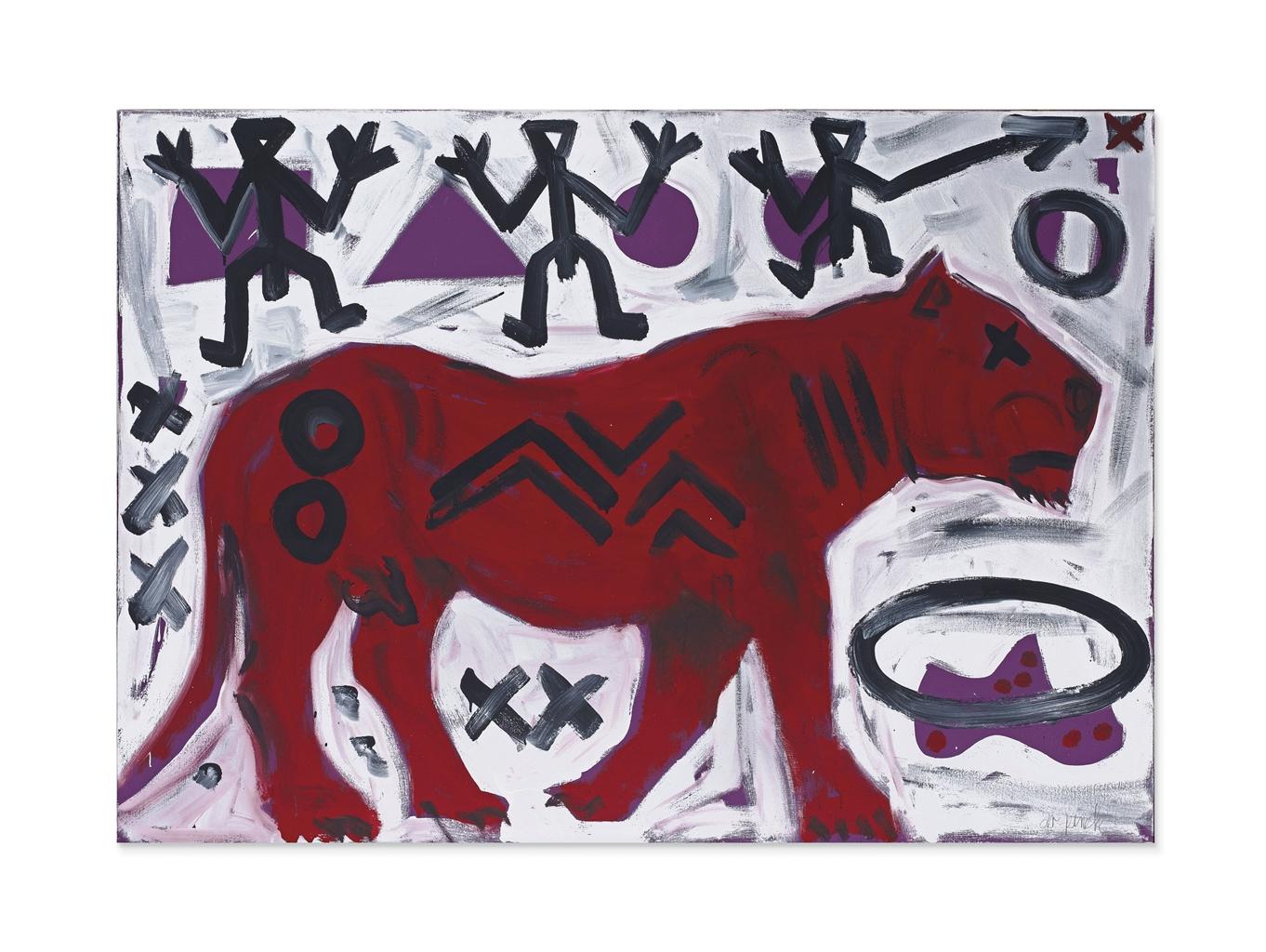 A.R. Penck-Animal-1991