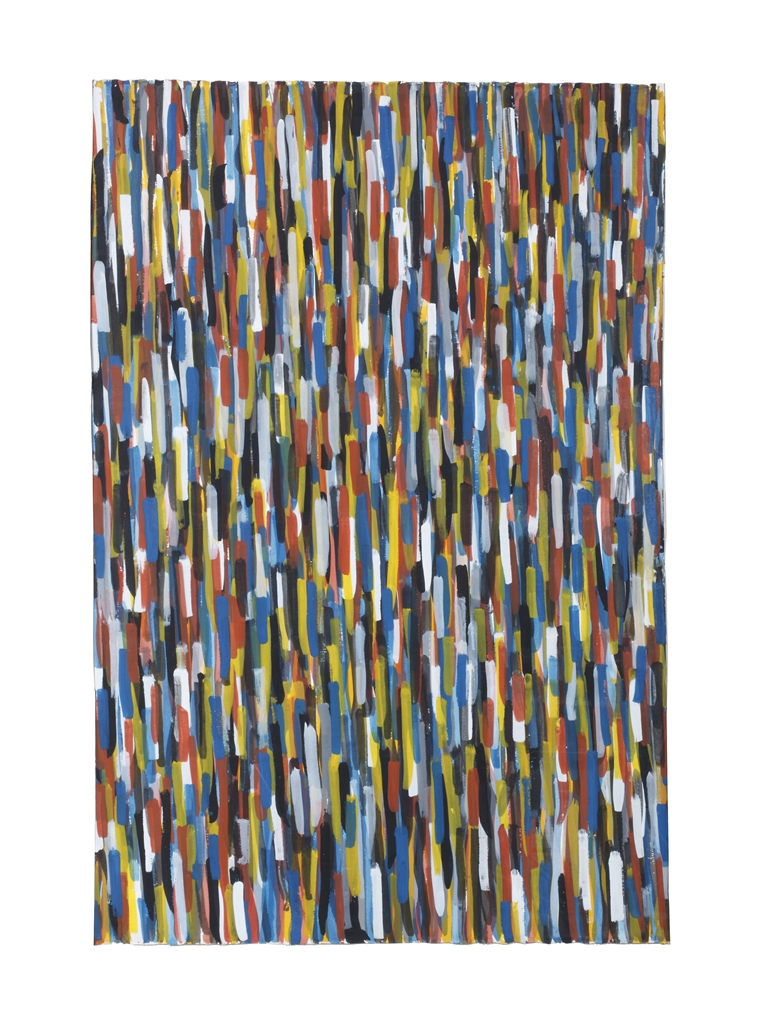 Sol LeWitt-Vertical Brushstrokes In All Directions-1993