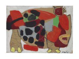 Karel Appel-Kat (Cat)-1950