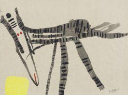 Karel Appel-Untitled-1955
