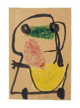 Karel Appel-Untitled-1948
