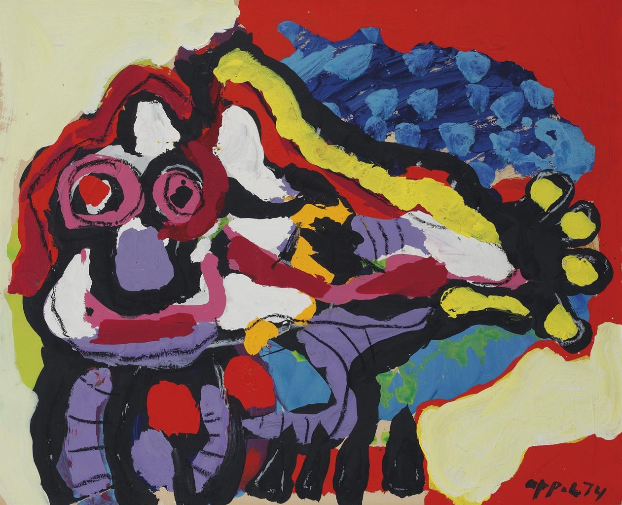 Karel Appel-Het Zonnige Dier (The Sunny Animal)-1974