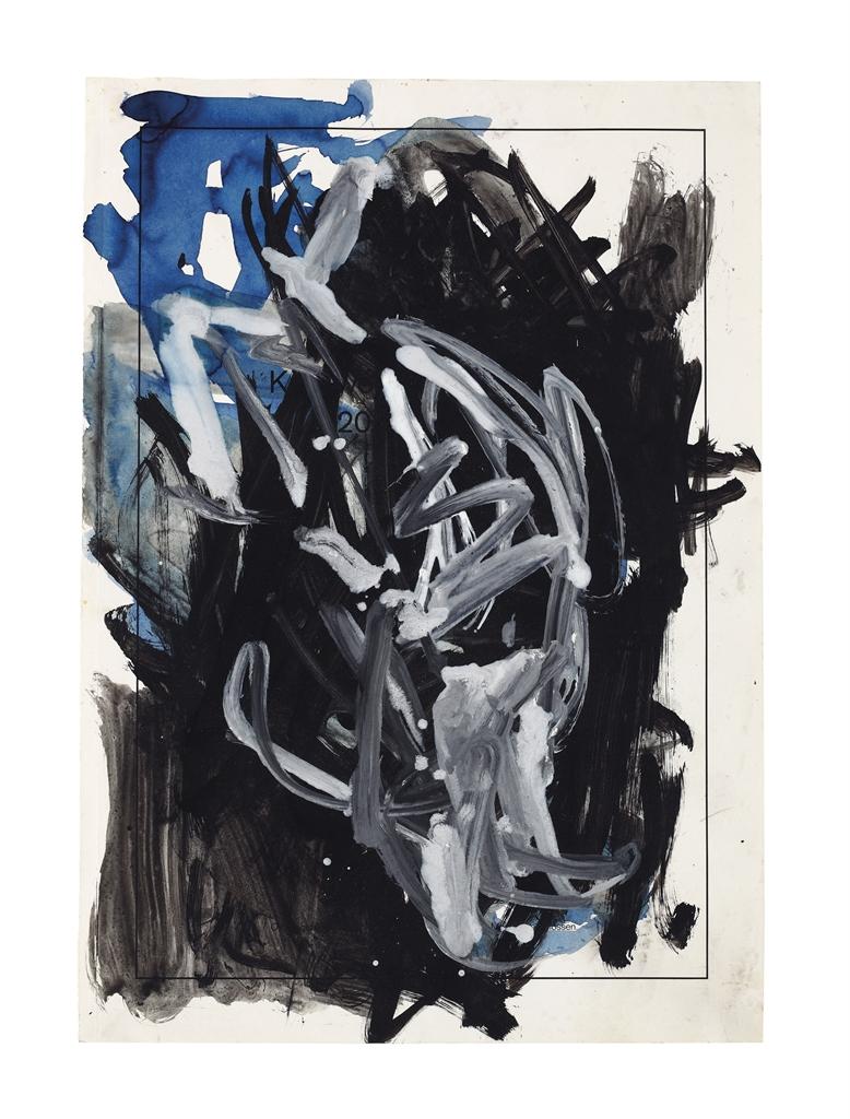 Georg Baselitz-Untitled-1978