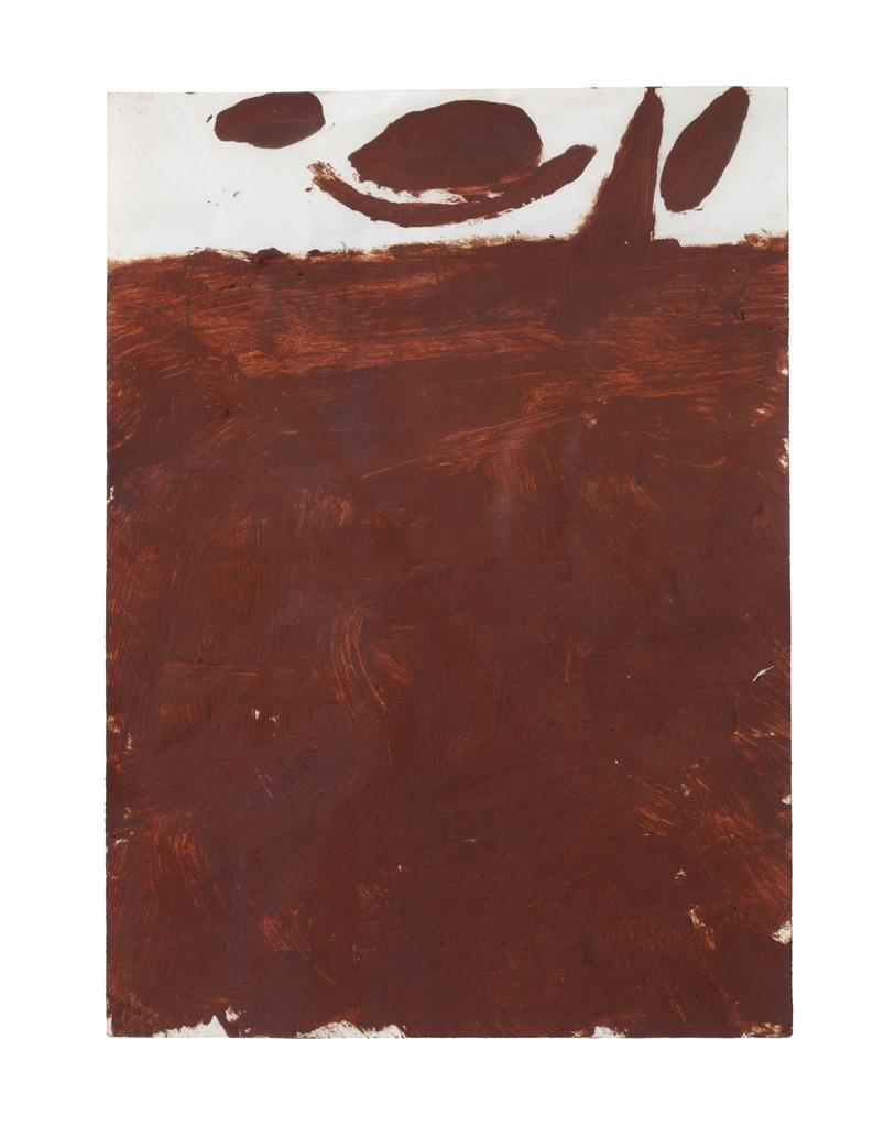Joseph Beuys-Braunkreuz (Brown Cross)-1960