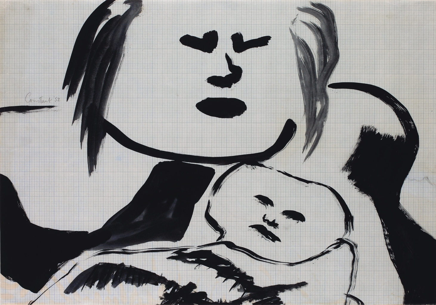 Constant-Moeder En Kind III (Mother And Child III)-1952