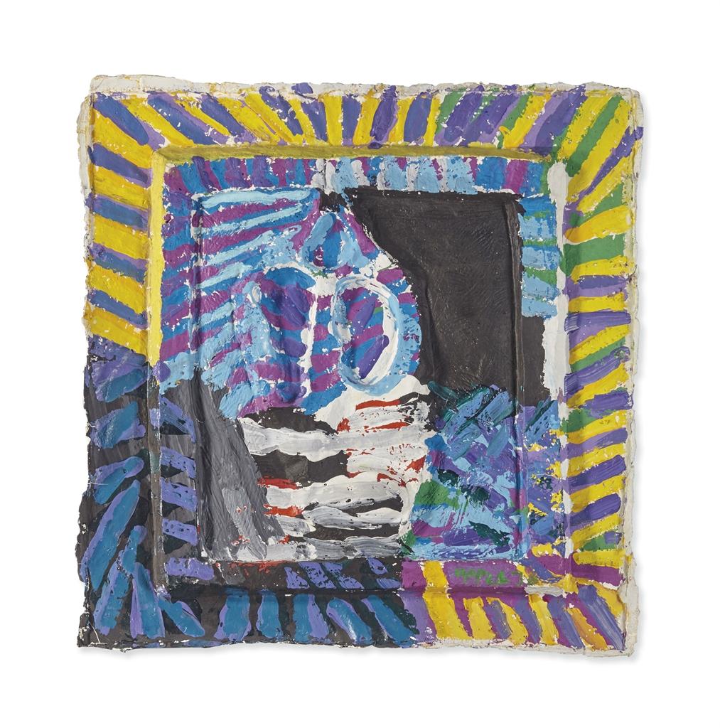Karel Appel-Untitled (Tetes)-1976
