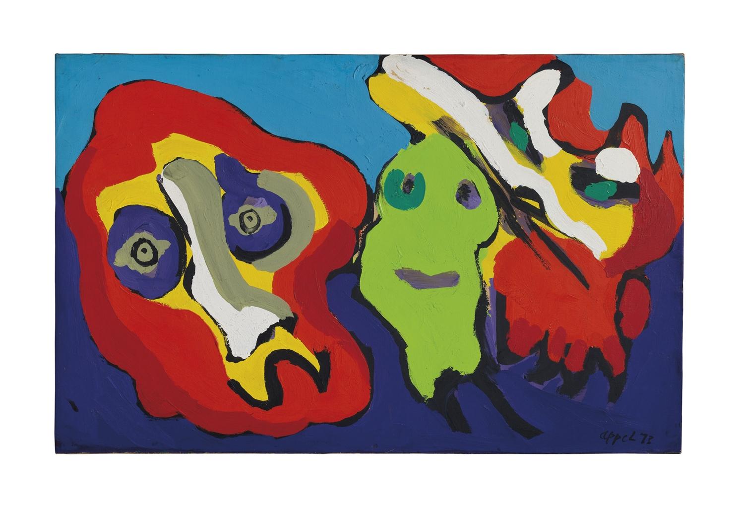 Karel Appel-Untitled-1973