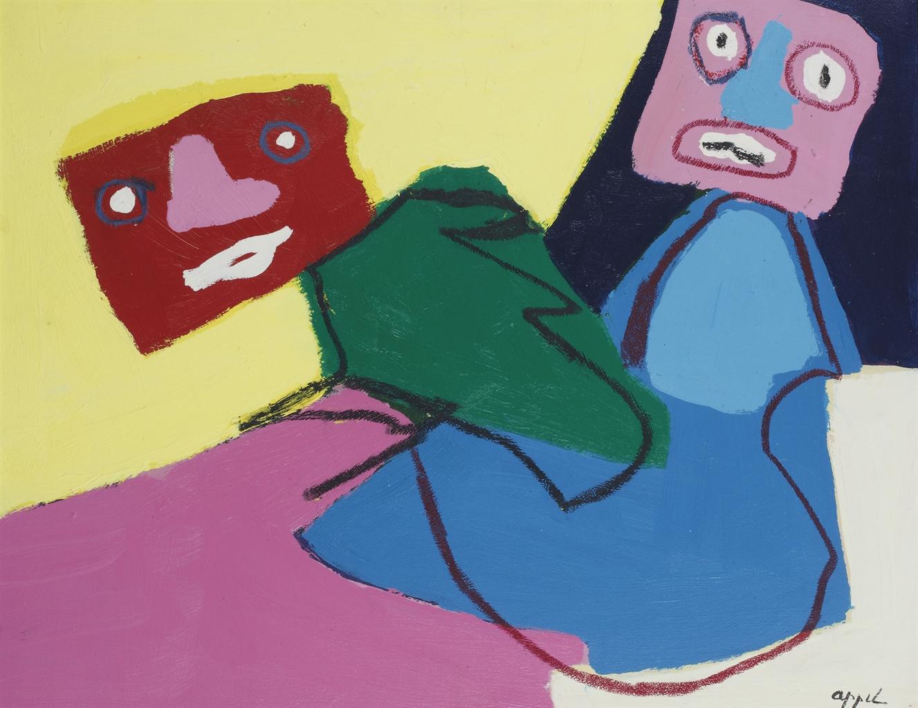 Karel Appel-Looking No. 19-1969