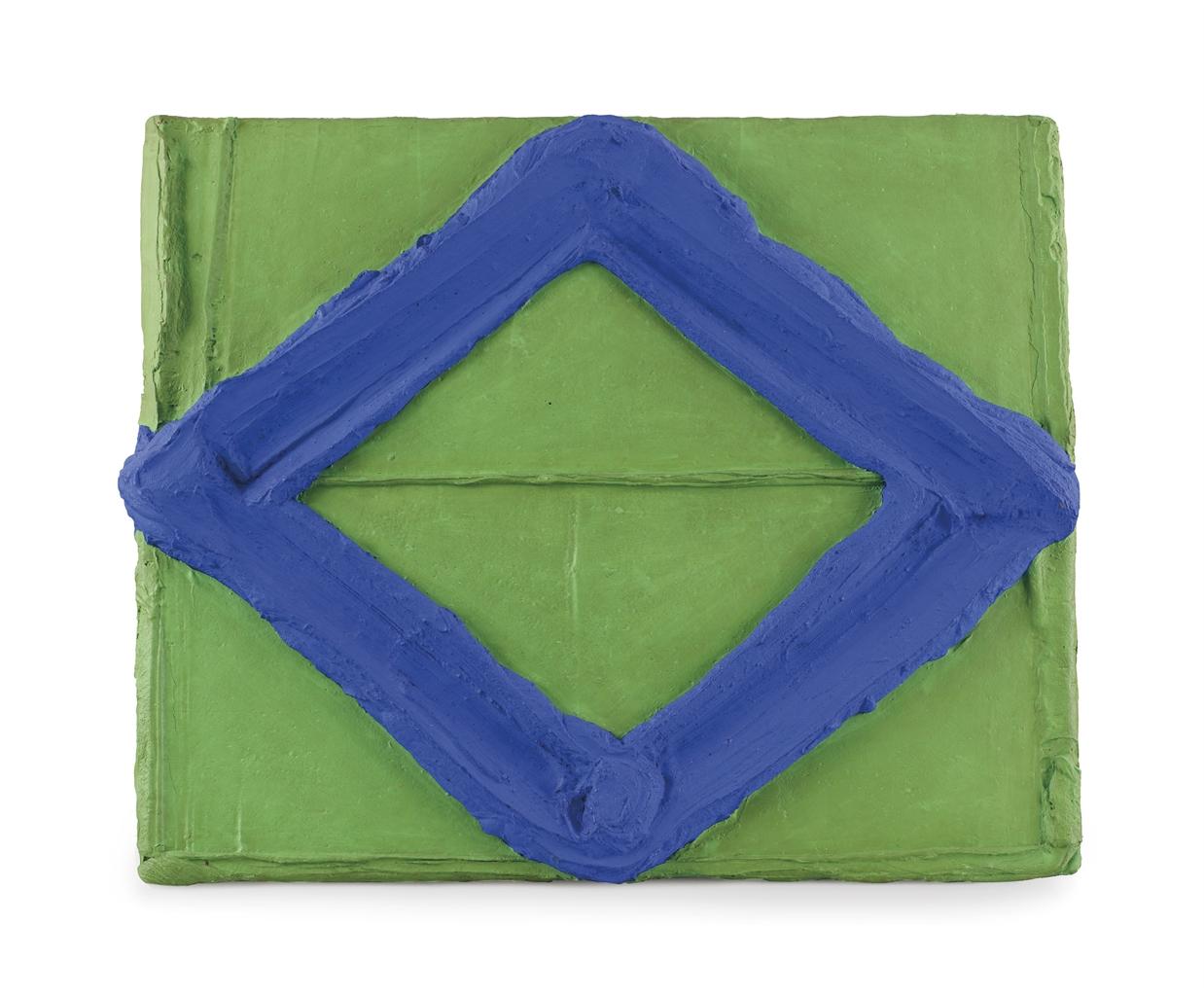 Bram Bogart-Blauwgang-Groen (Blue Passage-Green)-1968