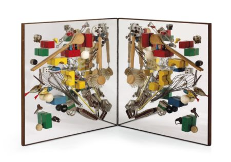 Daniel Spoerri-Spiegelobjekt (Kunstmultiplikator) (Mirror Object (Art Multiplier))-1964