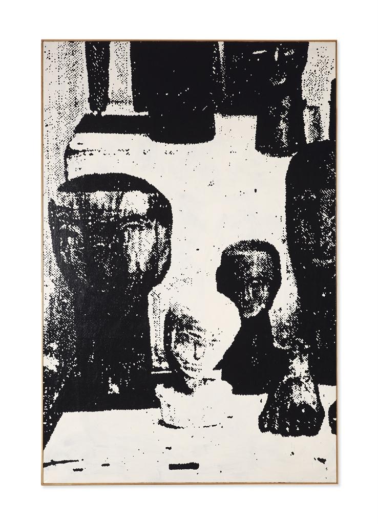 Walter Dahn-Untitled (From The Ex Voto Series)-1987