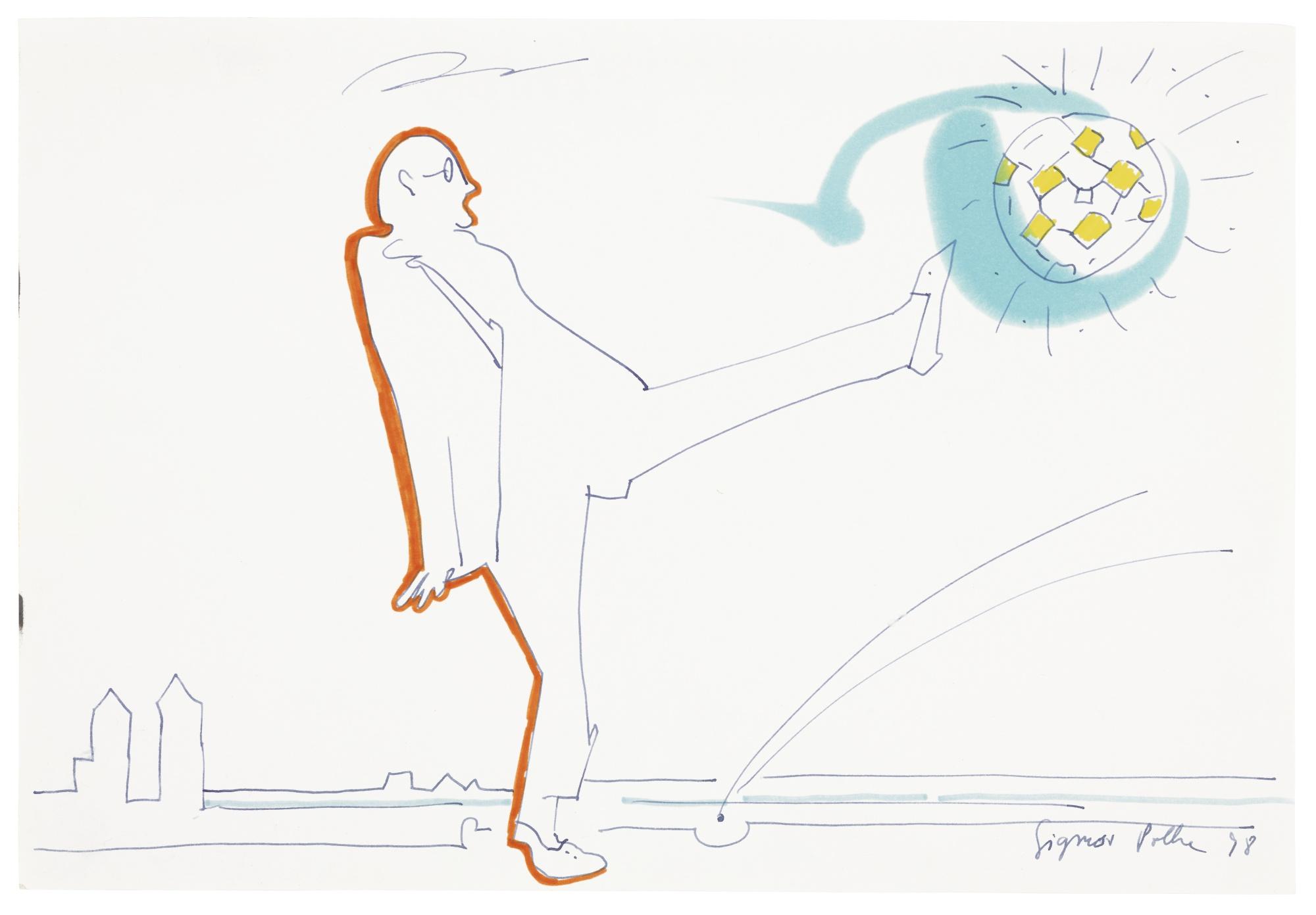 Sigmar Polke-Untitled-1998