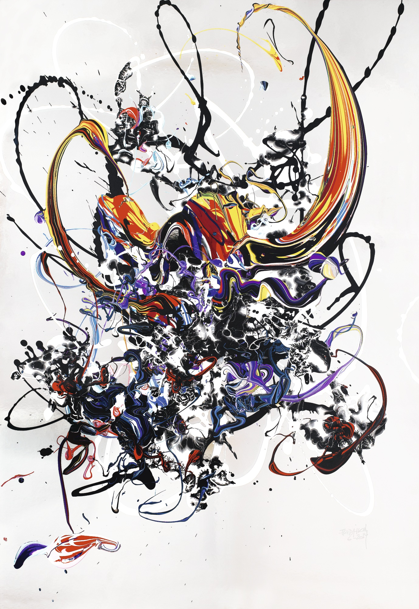 Katrin Fridriks-Skylanders - Reflected Paper No. 6-2014