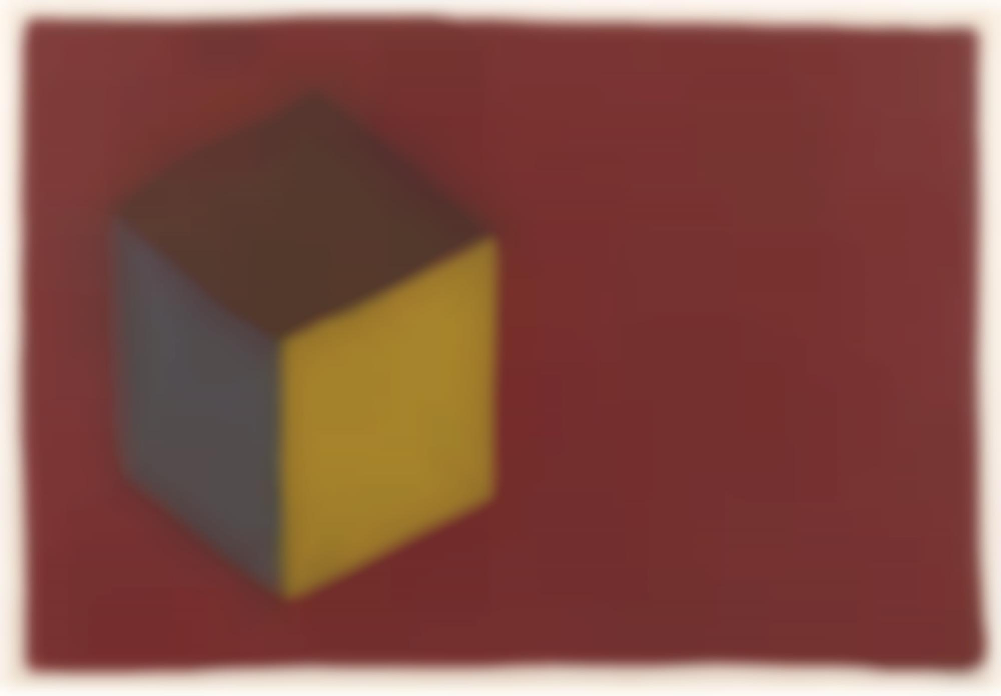 Sol LeWitt-Floating Cube-1987