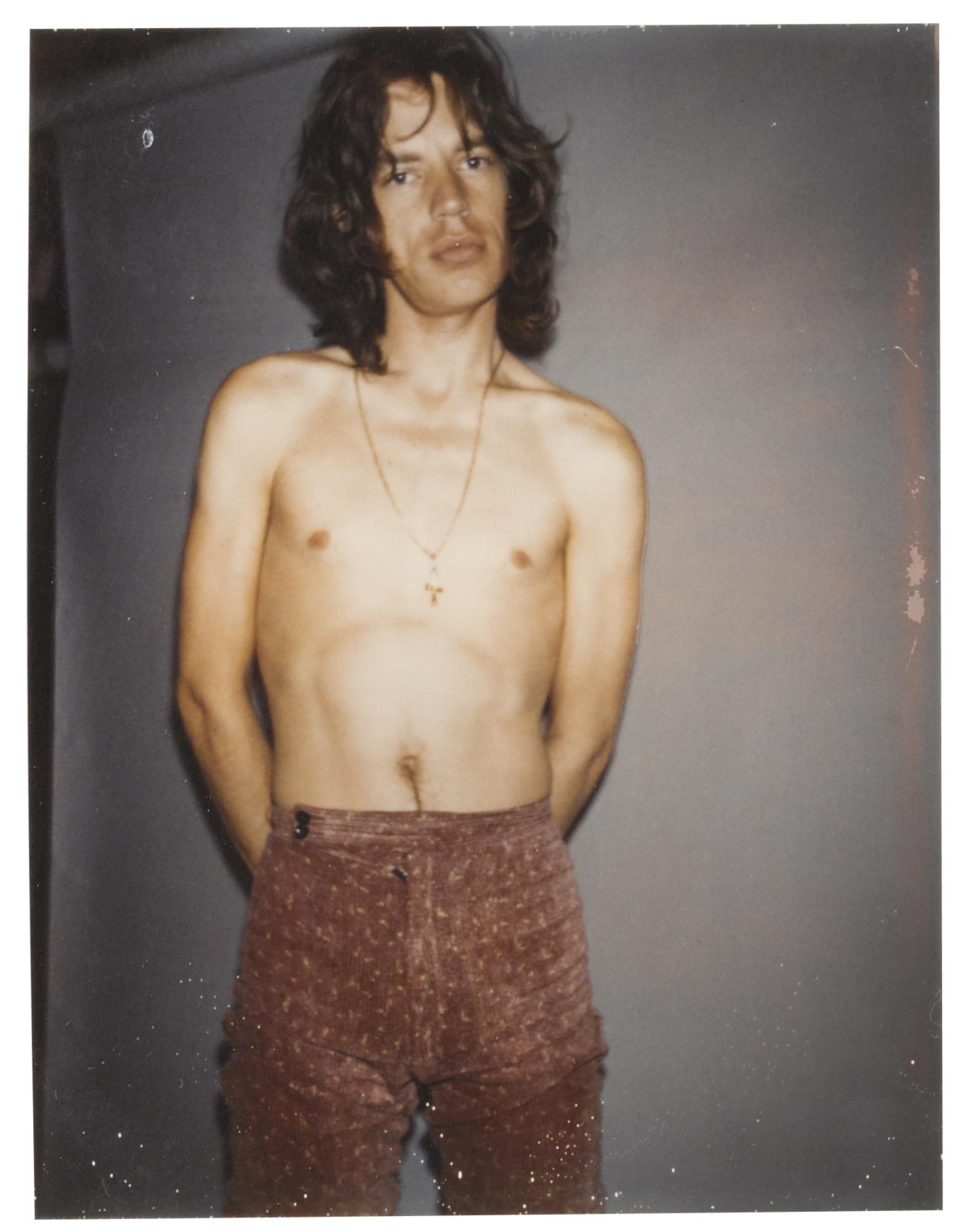 Andy Warhol-Untitled (Mick Jagger)-1975