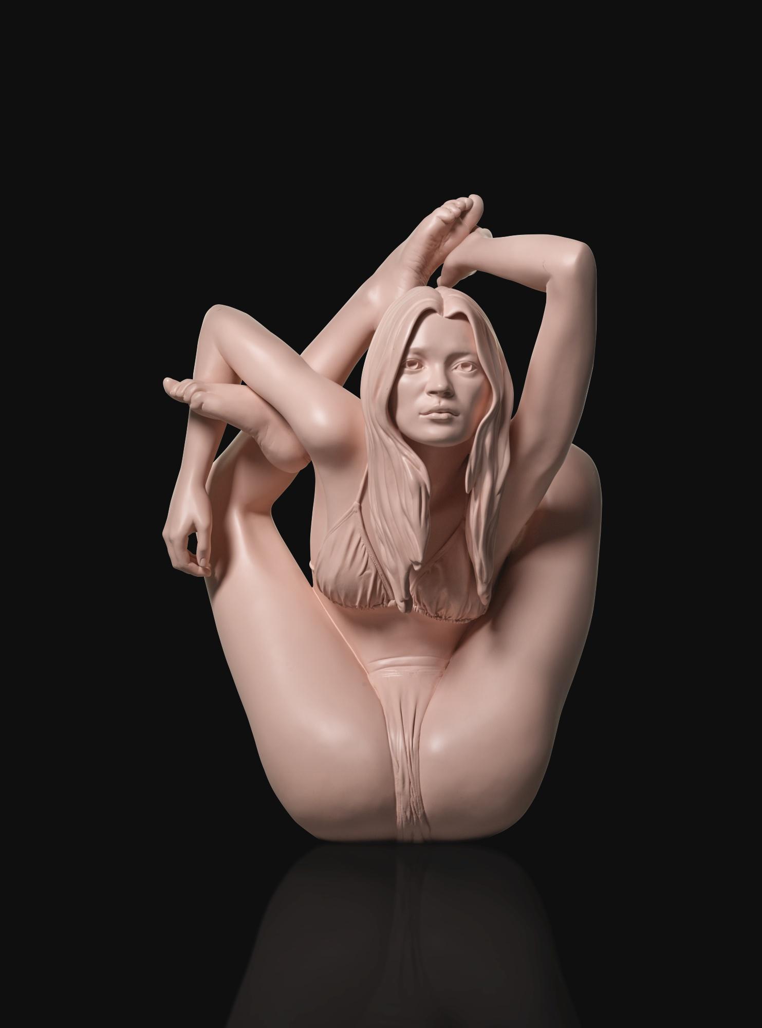 Marc Quinn-Pink Mirror Sphinx-2006