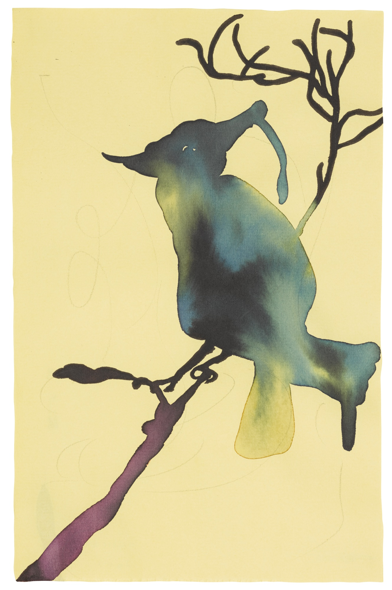 Chris Ofili-Untitled-2001