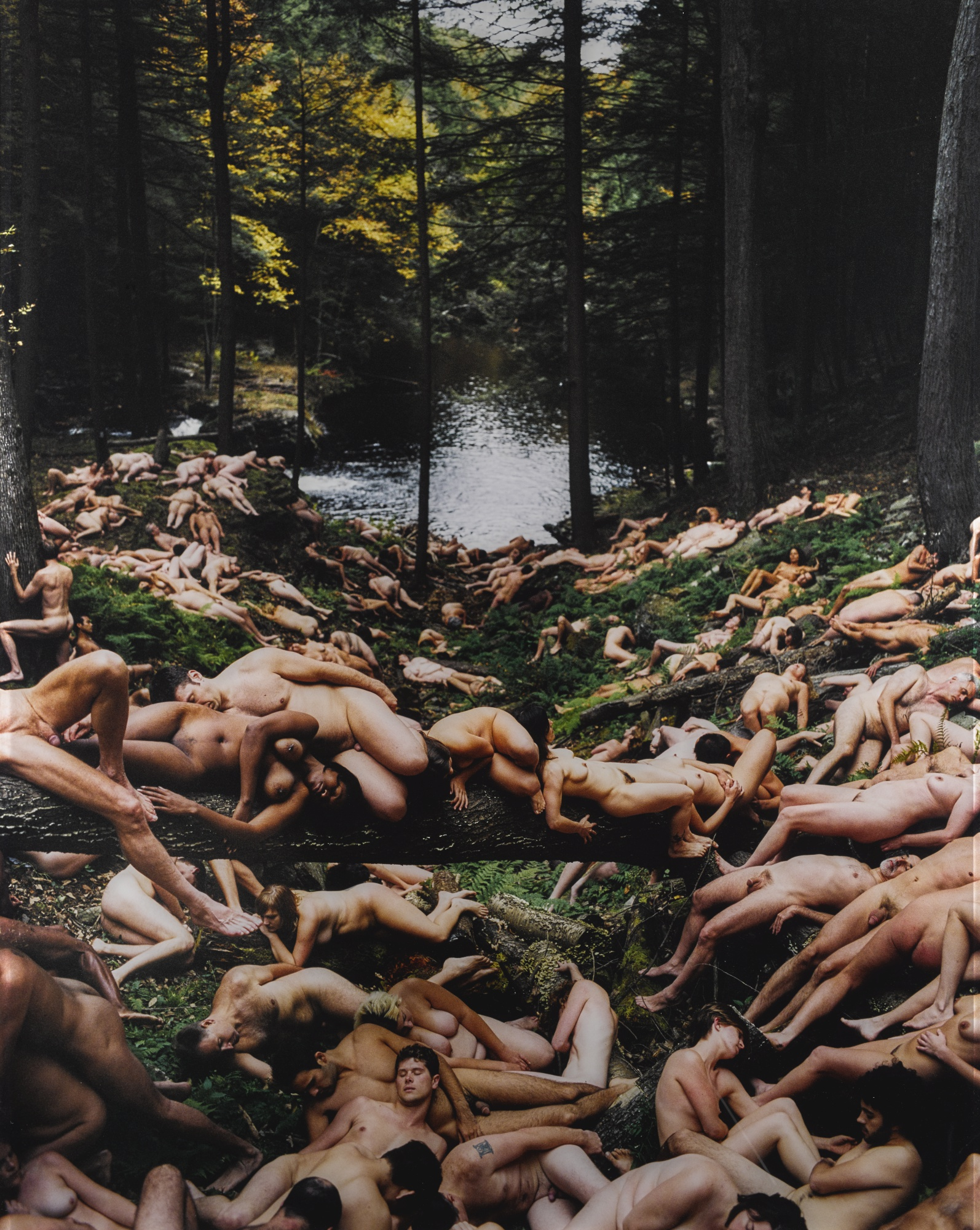 Spencer Tunick-Pennsylvania 3-2004