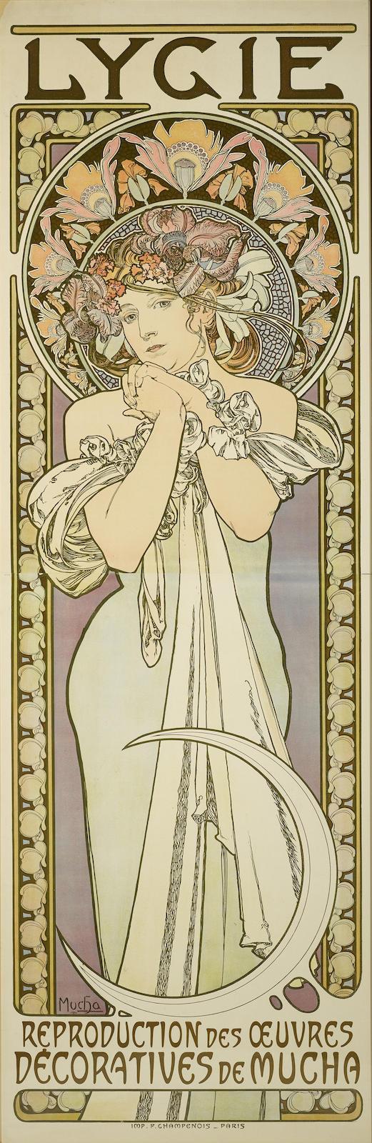 Alphonse Mucha-Lygielygie (R./W. 77)-1901