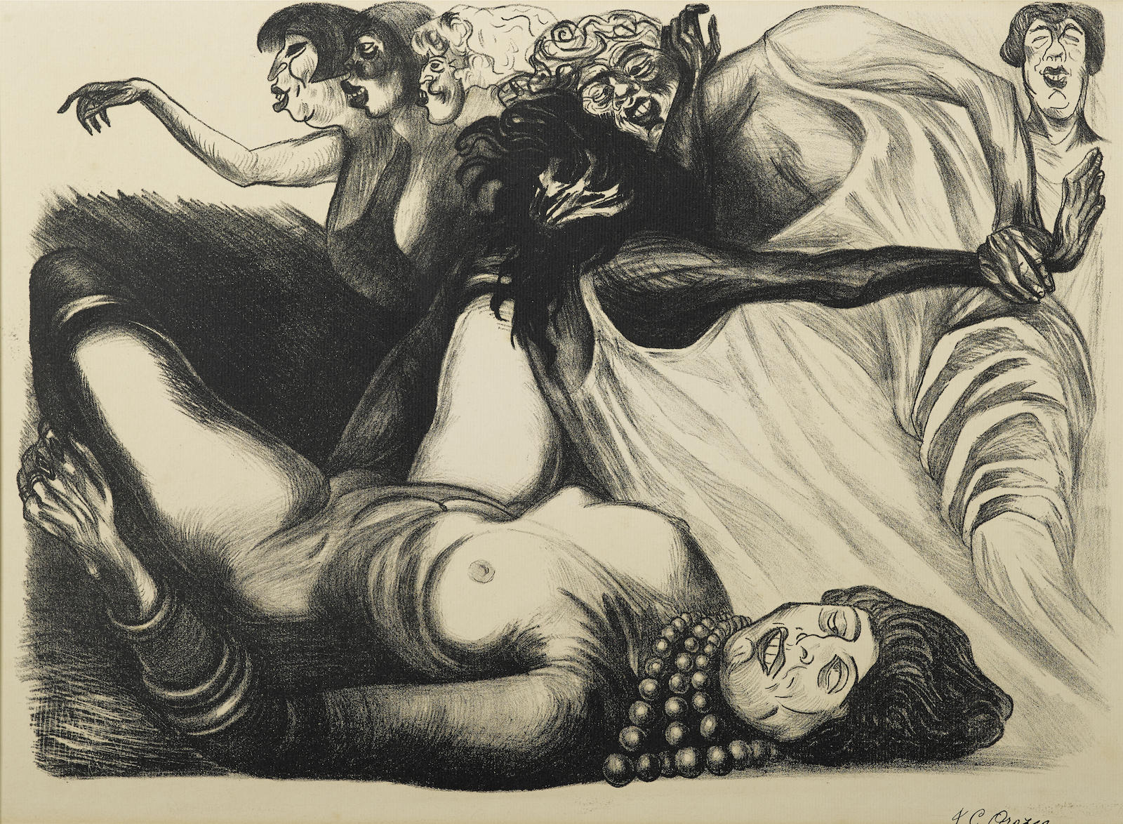 Jose Clemente Orozco - Mujeres (H. 28)-1935
