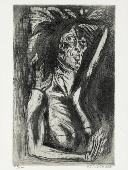 Jose Clemente Orozco - La Loca (H. 38)-1944