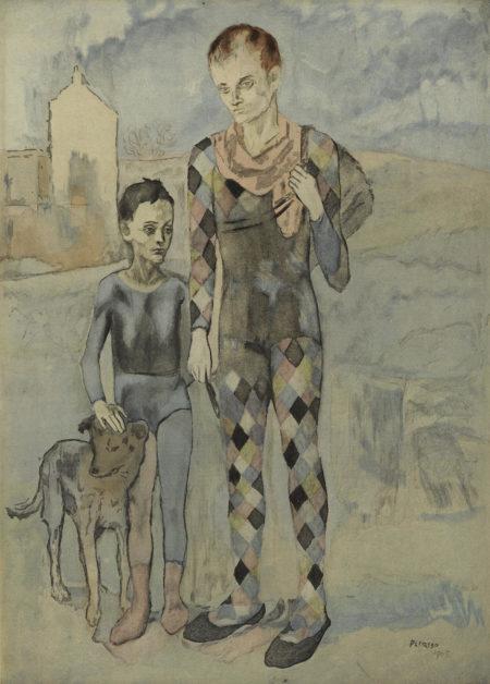After Pablo Picasso - Les Saltimbanques (G./P. E634)-1922