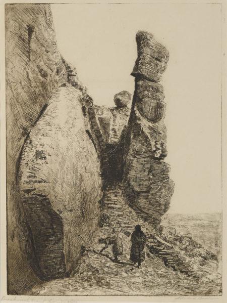 Edward Borein-Breakneck Trail To Walpi, No. 2 (G. 214)-