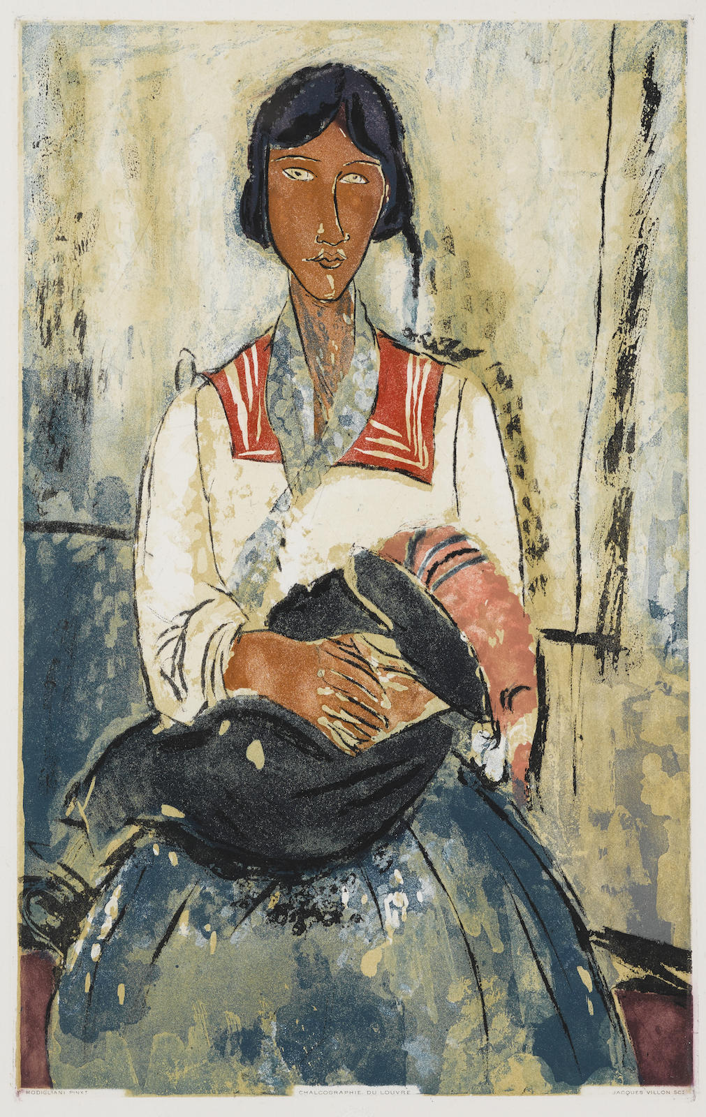 After Amedeo Modigliani - Litaliennelitalienne (G & P. E650)-1927