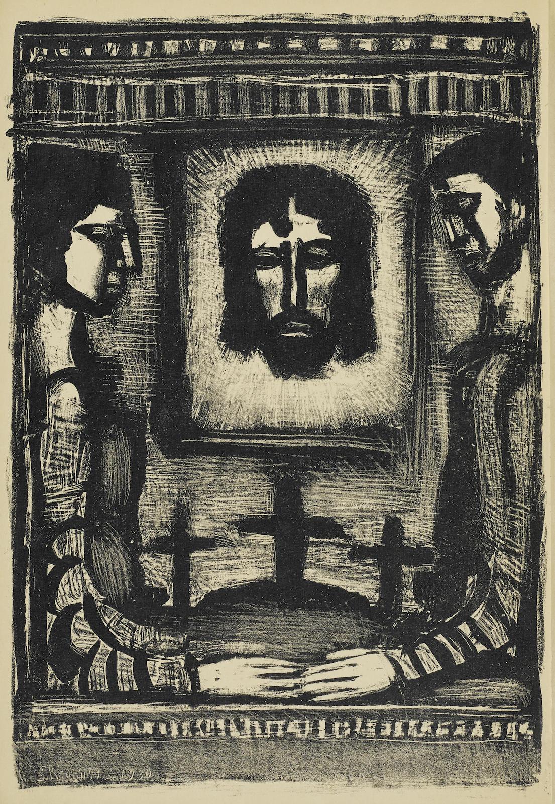 Georges Rouault-Carnets De Gilbert (C./R. 359)-1931