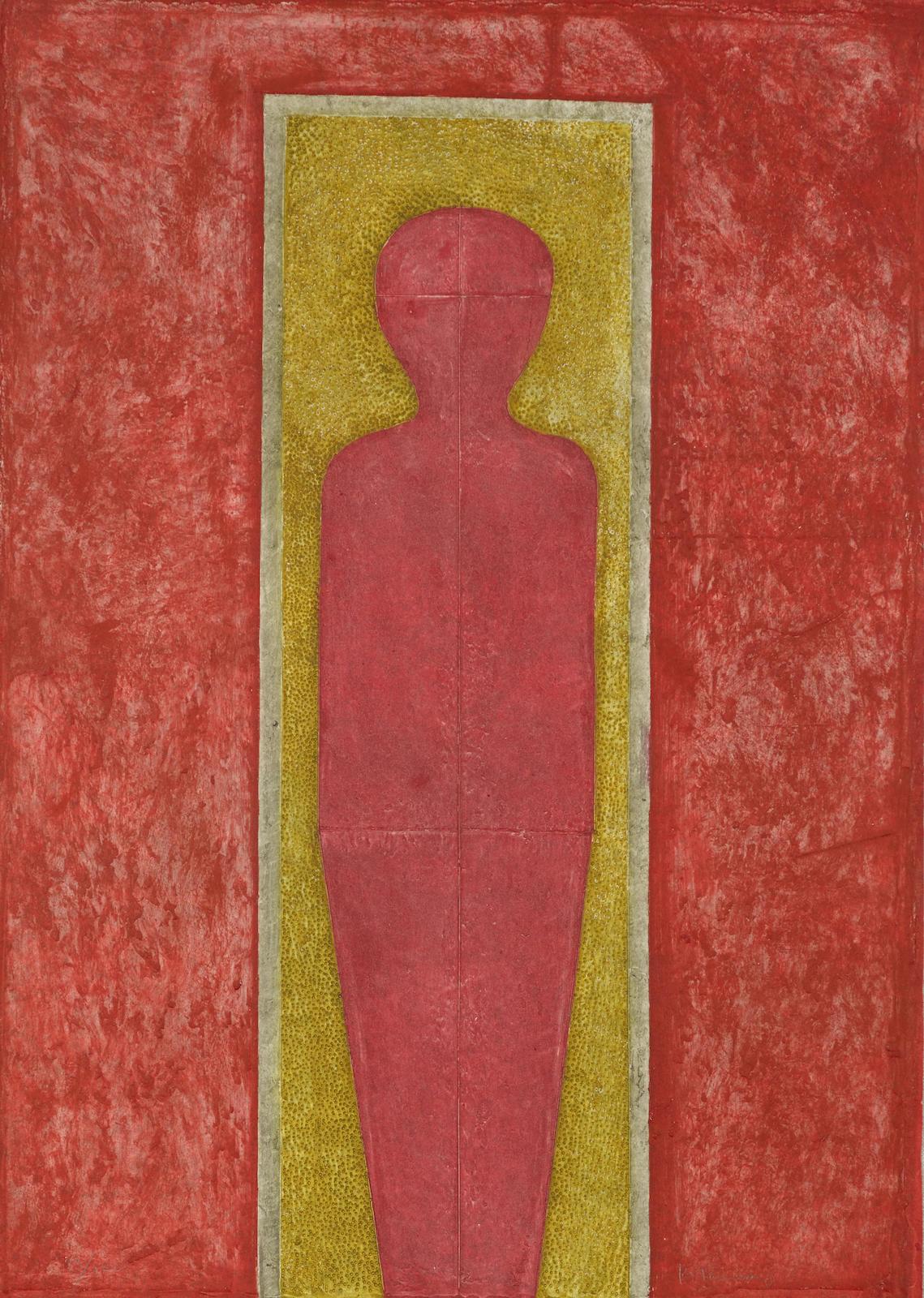 Rufino Tamayo-Figure De Pie (P. 233)-1977