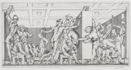 Paul Cadmus-Y.M.C.A. Locker Room (D. 36)-1934