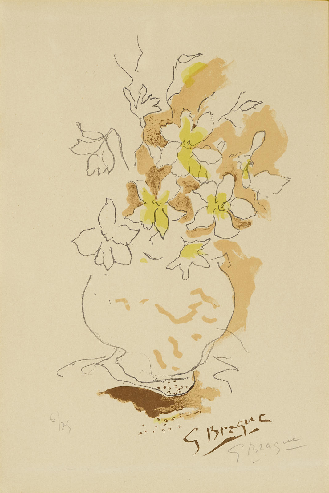 Georges Braque-Untitled, From Carnets Intimes De Georges Braque (Not In Vallier)-1955