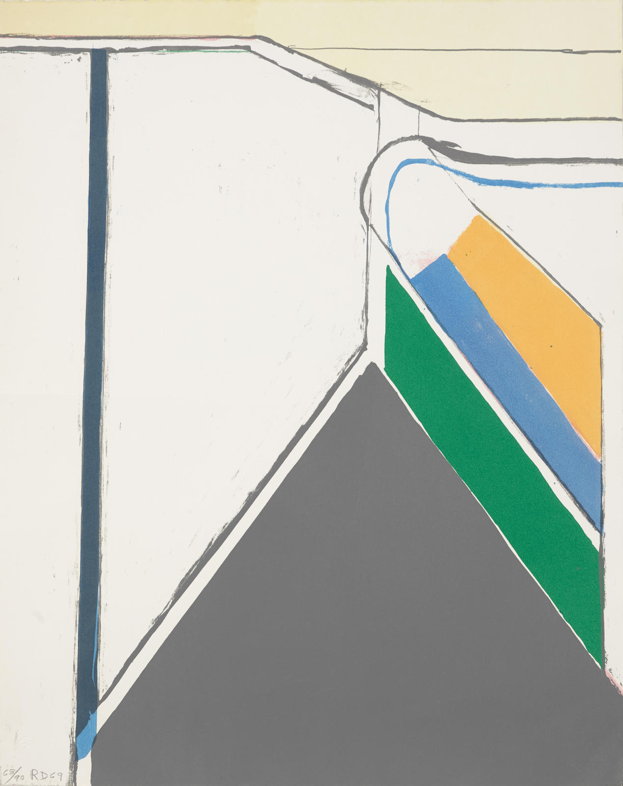Richard Diebenkorn-Untitled (Ocean Park)-1969