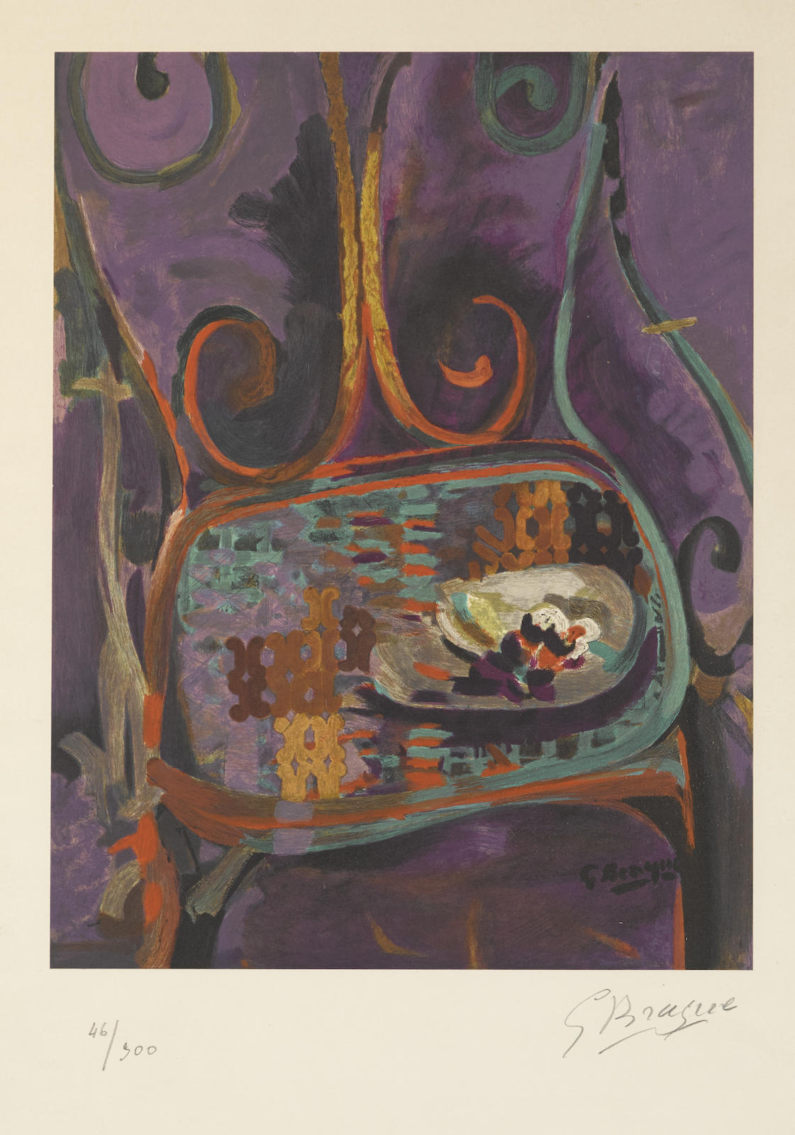 Georges Braque-After Georges Braque - La Chaise-1960