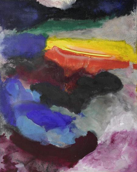 Friedel Dzubas-Untitled-1981