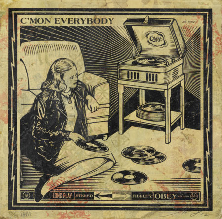 Shepard Fairey-Cmon Everybody, From Subliminal Projects-2012