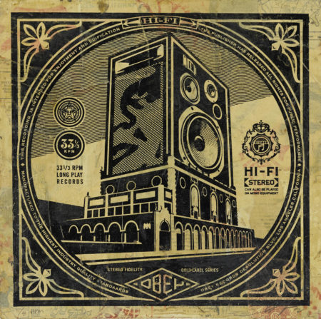 Shepard Fairey-Hi-Fi, From Subliminal Projects-2012