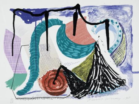 David Hockney-Catherines Walk, From Some More New Prints (G. 1623)-1993
