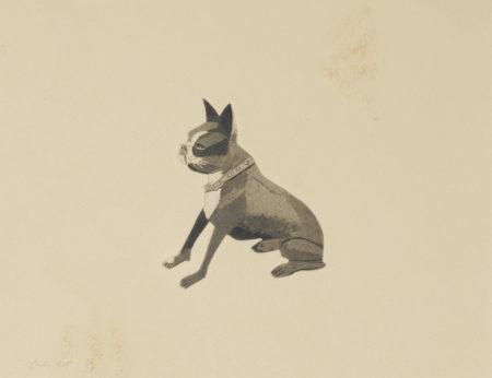 Alex Katz-The Dog (M. 95)-1978