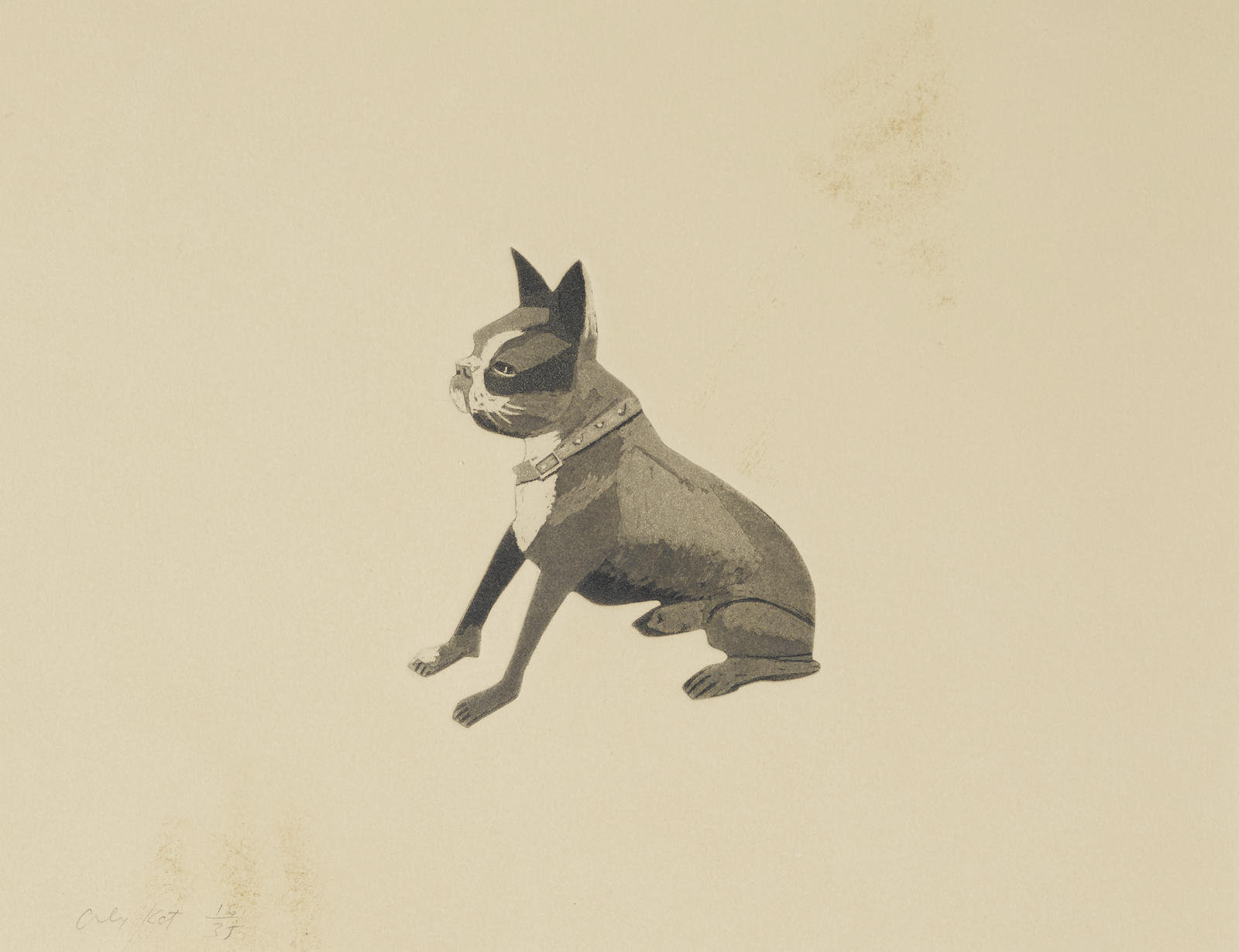 Alex Katz-The Dog (M. 95)-1978